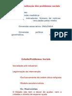 O Estado Eos Problemas Sociais