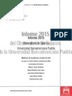 Informe 2015 del Observatorio de Salarios