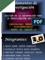 gestión de la información para la investigación documental