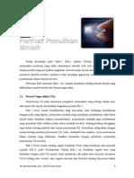 Bab-2 Format Penulisan Ilmiah