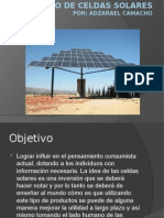 proyecto de celdas solares