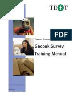 TDOT-GeopakSurveyTrainingManual