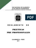 Reglamento Practicas Pre Profesionales
