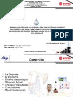 Evaluacion Tecnica Economica Del Uso Tecnologias Tratamiento Agua Su Reutilizacion