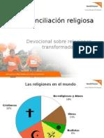 Devocional, Reconciliando Las Religiones