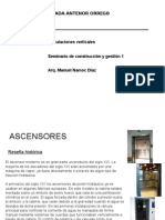 ASCENSORES - Exposicion Clase 1