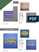 Catalogo de Moldes de Silicona Andrea Rabal