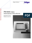 Drager Patient Monitor PM8060 - User Manual