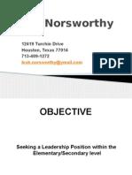 leah norsworthy resume