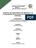 Informe de Laboratorio # 6