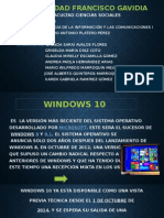 Presentacion Del Tema Windows 10