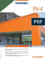 Cubiertas y Revestimientos PV 4