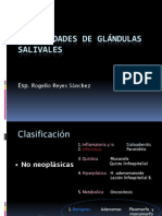 Tumor Mixto de Glándulas Salivales