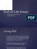 End of Life Policies Presentation