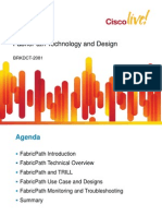 BRKDCT-2081 Cisco FabricPath Technology and Design (2011 London)