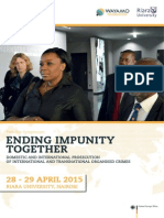 Ending Impunity Together