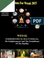 Aspirations For Wesak 2015