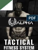 SpecForce Alpha Program PDF, eBook by Todd Lamb