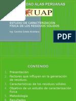 Estudio de Caracterizacion RRSS - alas.ppt