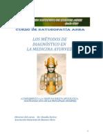 Los Métodos de Diagnóstico en el Ayurveda
