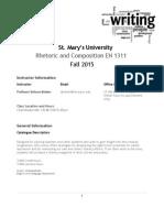 syllabus masters