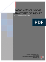 Basic and Clinical Anatomy of Heart (5.2. Cardiorespiratory)