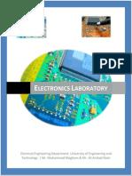 Electronics Lab Report