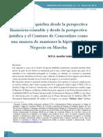 Analisis de La Quiebra Perspetiva Juridica y Financiera Contable