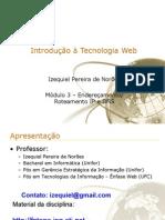 Introdução à Tecnologia Web - módulo 3
