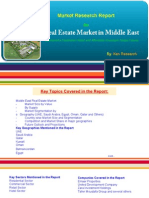 Industry Report - Real Estate Market in Middle East 2019