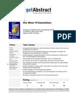Summary - Get.abstract. Wow_praesentation_odR