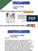 Medical Transcription Service Provider