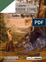 Pathfinder RPG Codex Mysterium (TD0303)