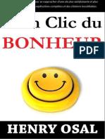 A Un Clic Du Bonheur (French Ed - Osal, Henry
