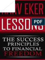 Harv Eker Lessons_ the Success - Dacosta, Michael