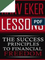 Harv Eker Lessons_ the Success - Dacosta, Michael