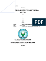 Ekonomi moneter keynes dan modern