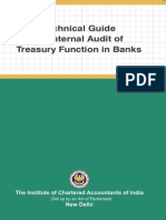 Audit Treasury Bank of India