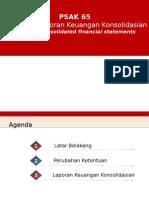 PSAK 65 Laporan Keuangan Konsolidasian 17022015