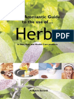 Use of Herbs in Skin Hair and Health Care Products