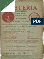 Mysteria septembre 1913