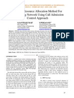 A Novel Resource Allocation Method For Multicasting Network Using Call Admission Control Approach