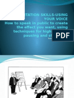 3. Presentation Skills_using Your Voice