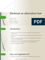 Biodiesel as Alternative Fuel