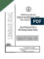 Soal Pjjk Un 2015 Mat Teknik Paket b Oke