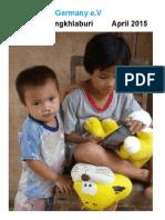 Plastic Mission Newsletter Report 2015