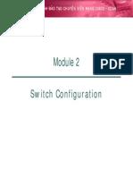 2. Switch Configuration