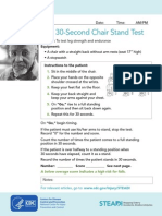 30 Second Chair Stand Test