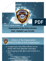 Plainfield (NJ) Police Reorganization Proposal (2007)