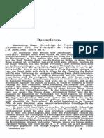 Recensionen Kant-Studien 1904 (Vol. 8)